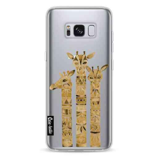 Casetastic Softcover Samsung Galaxy S8 - Sepia Giraffes