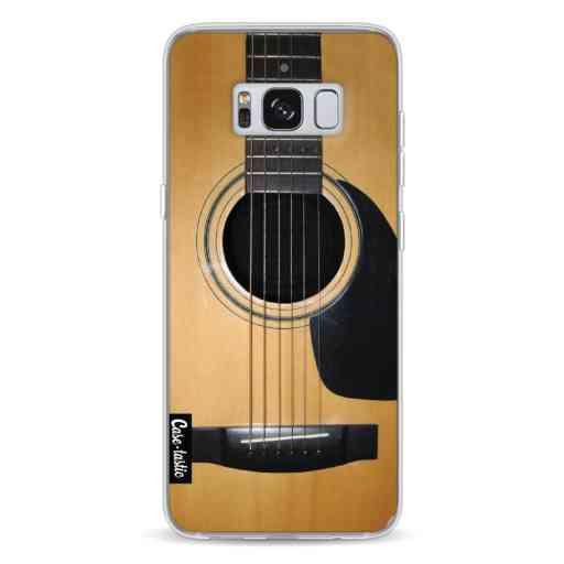 Casetastic Softcover Samsung Galaxy S8 - Guitar