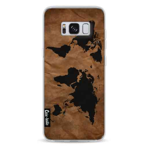 Casetastic Softcover Samsung Galaxy S8 - World Map