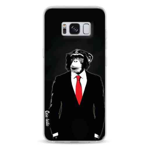 Casetastic Softcover Samsung Galaxy S8 - Domesticated Monkey