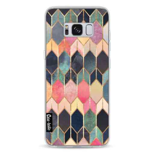 Casetastic Softcover Samsung Galaxy S8 - Stained Glass Multi