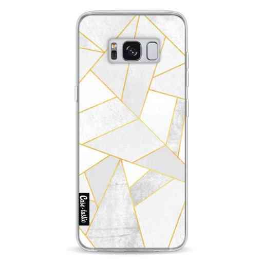 Casetastic Softcover Samsung Galaxy S8 - White Stone