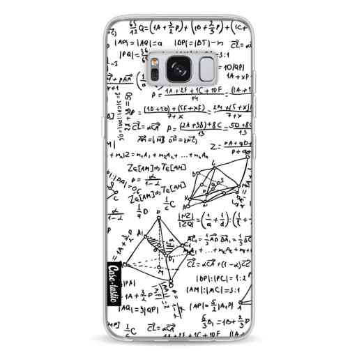 Casetastic Softcover Samsung Galaxy S8 - You Do The Math White