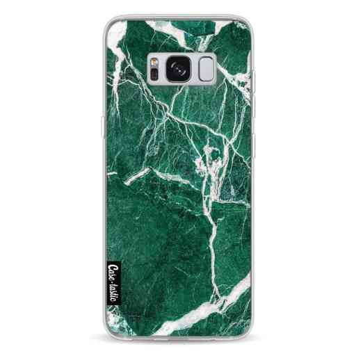 Casetastic Softcover Samsung Galaxy S8 - Dark Green Marble