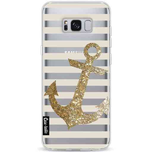 Casetastic Softcover Samsung Galaxy S8 Plus - Glitter Anchor Gold