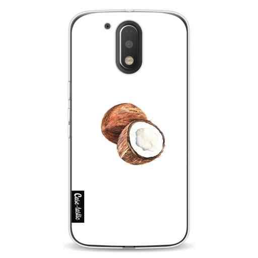Casetastic Softcover Motorola Moto G4 / G4 Plus - Coconuts