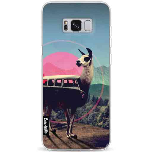 Casetastic Softcover Samsung Galaxy S8 Plus - Llama
