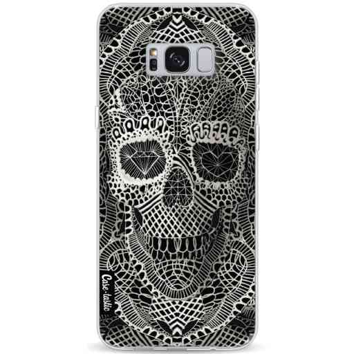 Casetastic Softcover Samsung Galaxy S8 Plus - Lace Skull