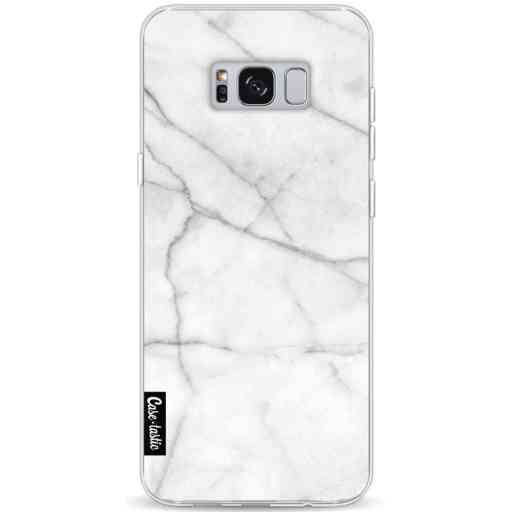 Casetastic Softcover Samsung Galaxy S8 Plus - White Marble