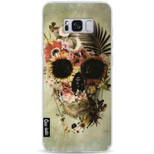Casetastic Softcover Samsung Galaxy S8 Plus - Garden Skull Light
