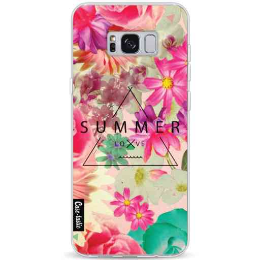 Casetastic Softcover Samsung Galaxy S8 Plus - Summer Love Flowers