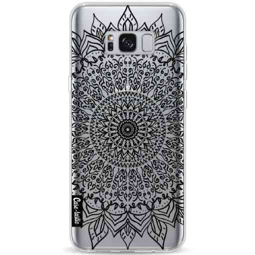 Casetastic Softcover Samsung Galaxy S8 Plus - Black Mandala