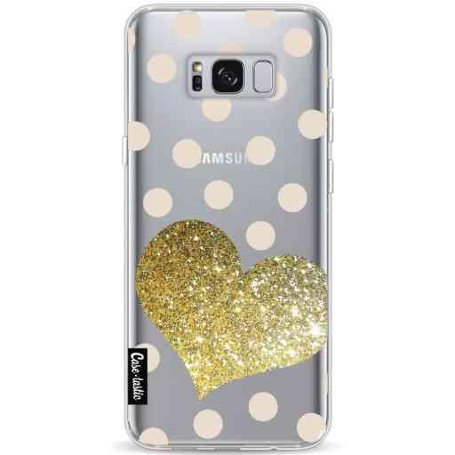Casetastic Softcover Samsung Galaxy S8 Plus - Glitter Heart