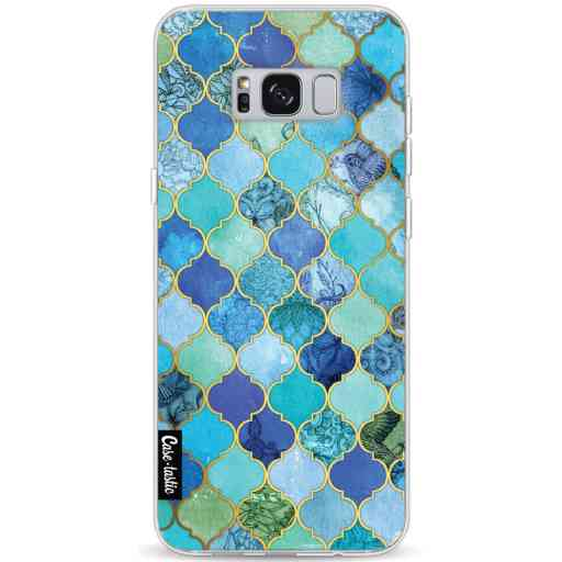 Casetastic Softcover Samsung Galaxy S8 Plus - Aqua Moroccan Tiles