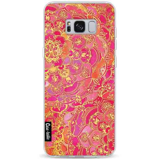 Casetastic Softcover Samsung Galaxy S8 Plus - Hot Pink Barroque