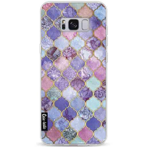 Casetastic Softcover Samsung Galaxy S8 Plus - Purple Moroccan Tiles