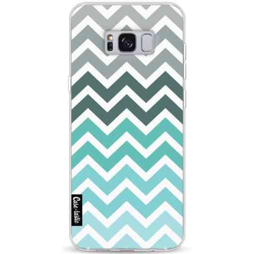Casetastic Softcover Samsung Galaxy S8 Plus - Tiffany Fade Chevron
