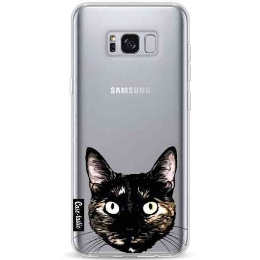 Casetastic Softcover Samsung Galaxy S8 Plus - Peeking Kitty