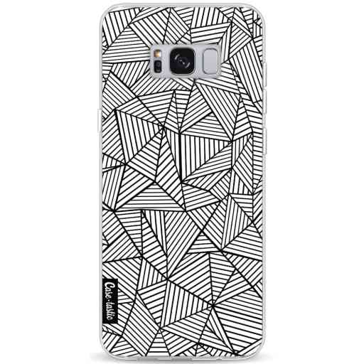 Casetastic Softcover Samsung Galaxy S8 Plus - Abstraction Lines