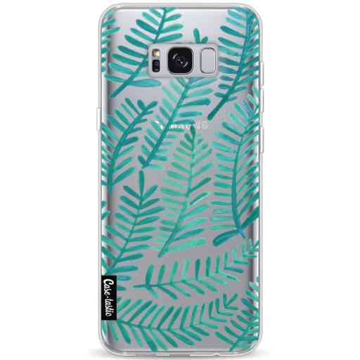 Casetastic Softcover Samsung Galaxy S8 Plus - Turquoise Fronds