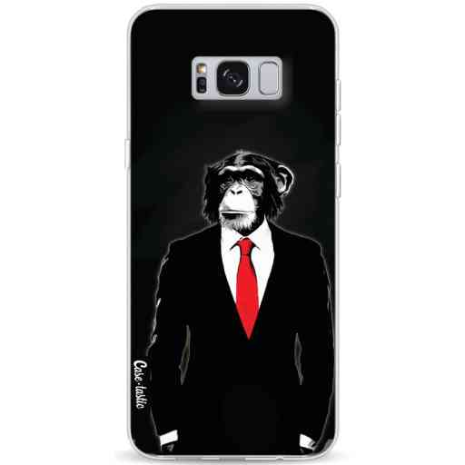 Casetastic Softcover Samsung Galaxy S8 Plus - Domesticated Monkey