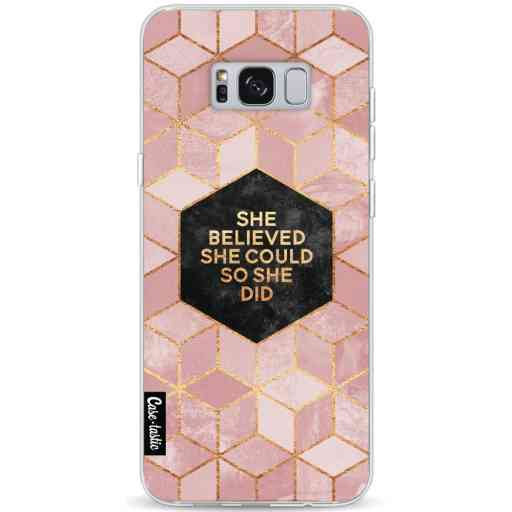 Casetastic Softcover Samsung Galaxy S8 Plus - She Believed She Could So She Did
