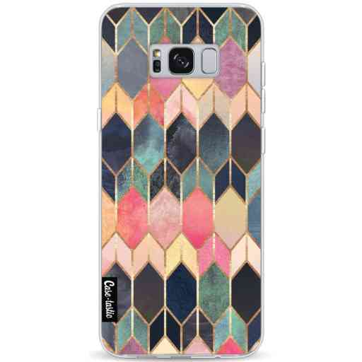 Casetastic Softcover Samsung Galaxy S8 Plus - Stained Glass Multi