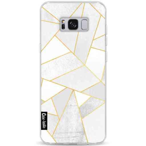 Casetastic Softcover Samsung Galaxy S8 Plus - White Stone