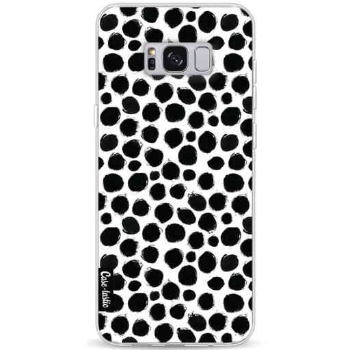 Casetastic Softcover Samsung Galaxy S8 Plus - Black Dotted