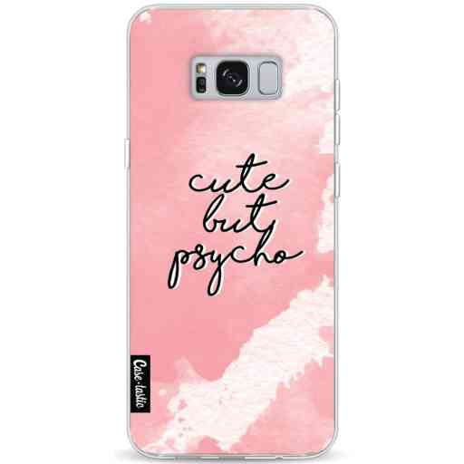Casetastic Softcover Samsung Galaxy S8 Plus - Cute But Psycho Pink