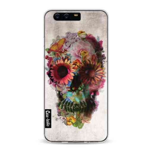 Casetastic Softcover Huawei P10 - Skull 2