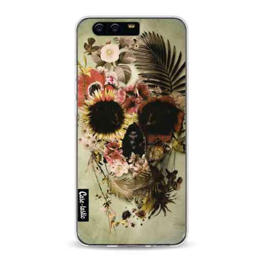 Casetastic Softcover Huawei P10 - Garden Skull Light