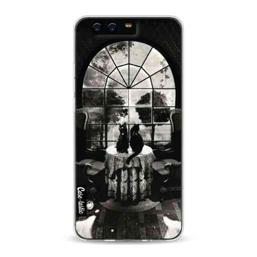 Casetastic Softcover Huawei P10 - Room Skull BW