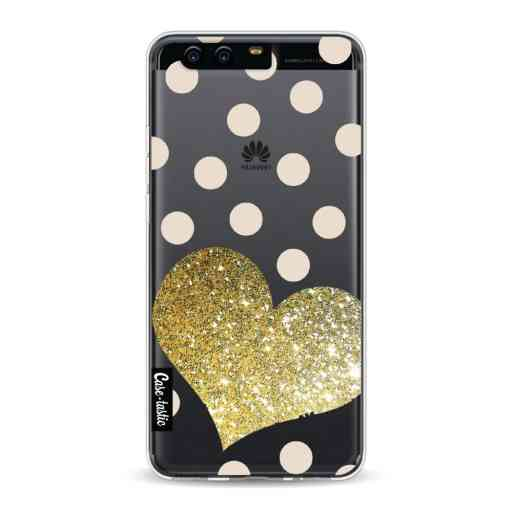 Casetastic Softcover Huawei P10 - Glitter Heart