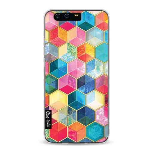 Casetastic Softcover Huawei P10 - Bohemian Honeycomb