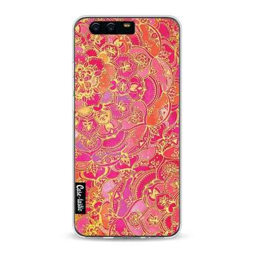 Casetastic Softcover Huawei P10 - Hot Pink Barroque