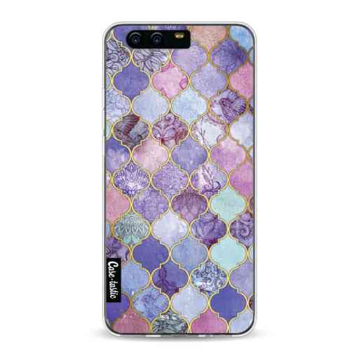 Casetastic Softcover Huawei P10 - Purple Moroccan Tiles