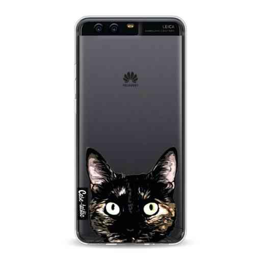 Casetastic Softcover Huawei P10 - Peeking Kitty