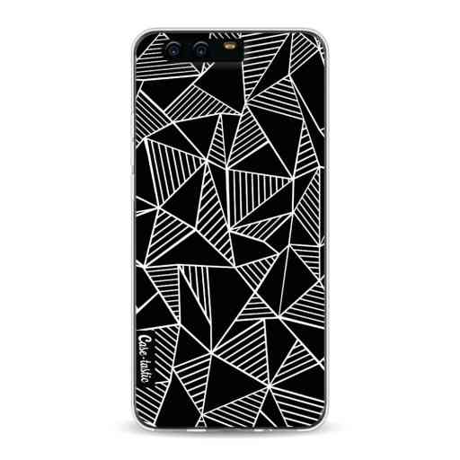 Casetastic Softcover Huawei P10 - Abstraction Lines Black