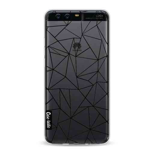 Casetastic Softcover Huawei P10 - Abstraction Outline Black Transparent