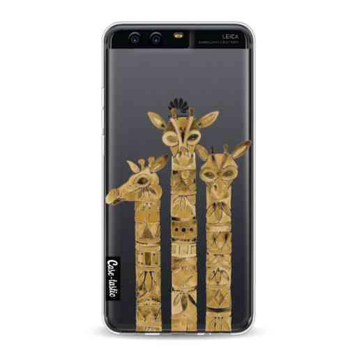 Casetastic Softcover Huawei P10 - Sepia Giraffes
