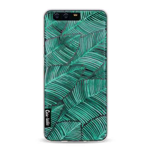 Casetastic Softcover Huawei P10 - Tropical Leaves Turquoise