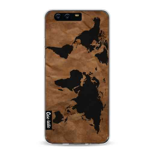 Casetastic Softcover Huawei P10 - World Map