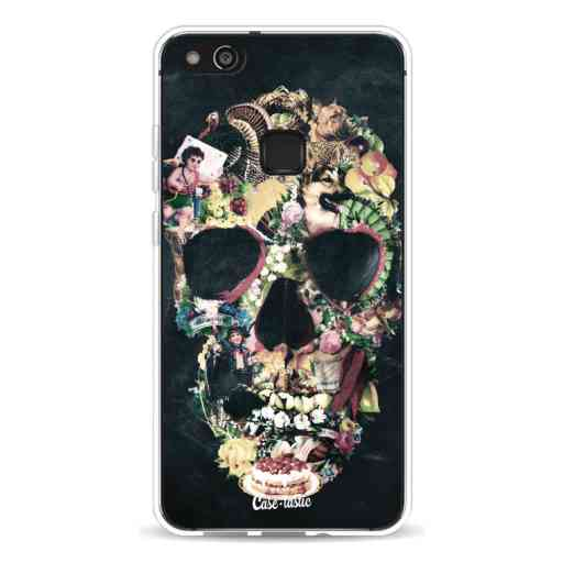 Casetastic Softcover Huawei P10 Lite - Vintage Skull