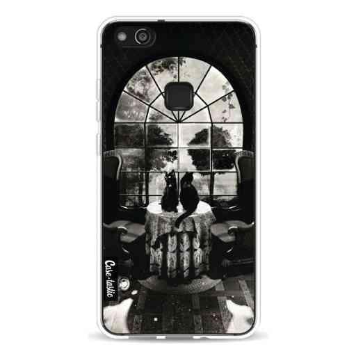 Casetastic Softcover Huawei P10 Lite - Room Skull BW