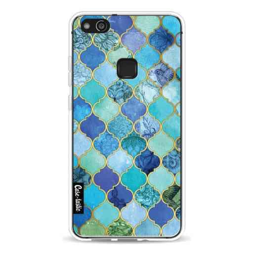 Casetastic Softcover Huawei P10 Lite - Aqua Moroccan Tiles