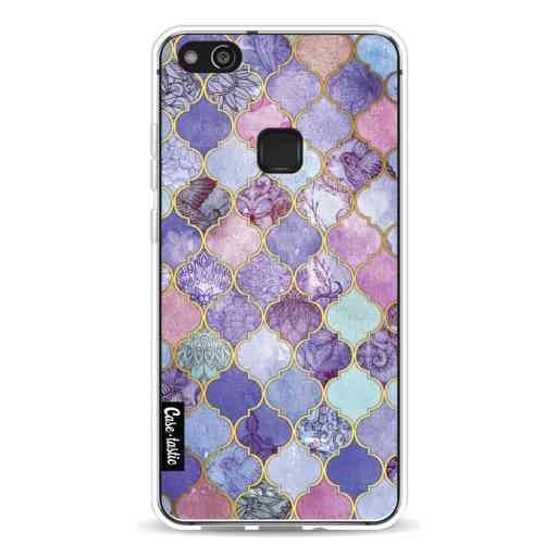 Casetastic Softcover Huawei P10 Lite - Purple Moroccan Tiles