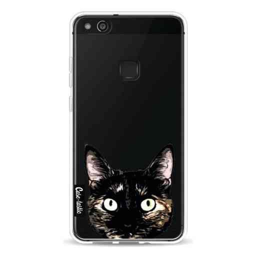 Casetastic Softcover Huawei P10 Lite - Peeking Kitty