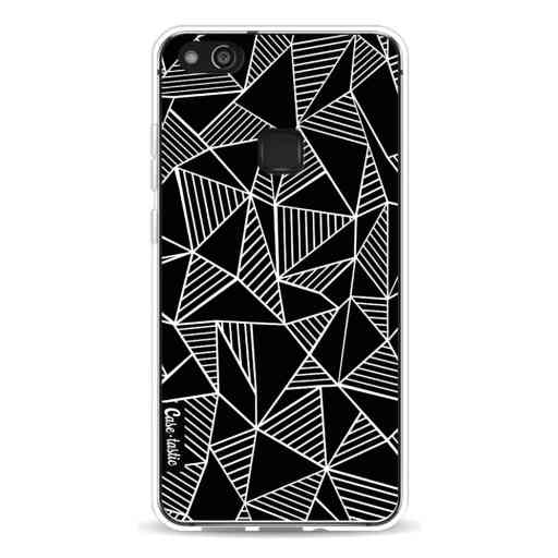 Casetastic Softcover Huawei P10 Lite - Abstraction Lines Black