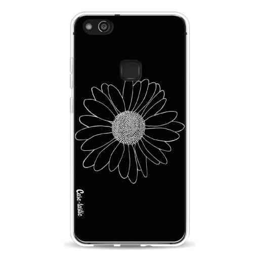 Casetastic Softcover Huawei P10 Lite - Daisy Black